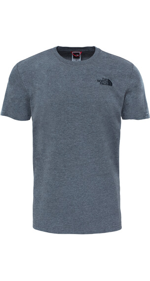 The North Face Red Box S/S Tee Men TNF Medium Grey Heather